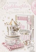 Goddaughter On Your Christening Day Card